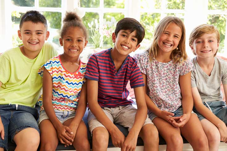 mindful photo of kids